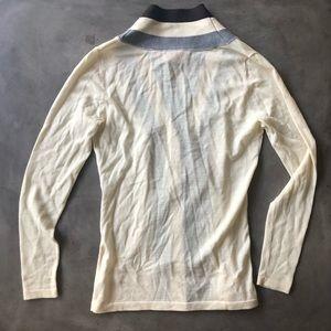 Tory Burch Sweaters - TORY BURCH Stripe Cardigan